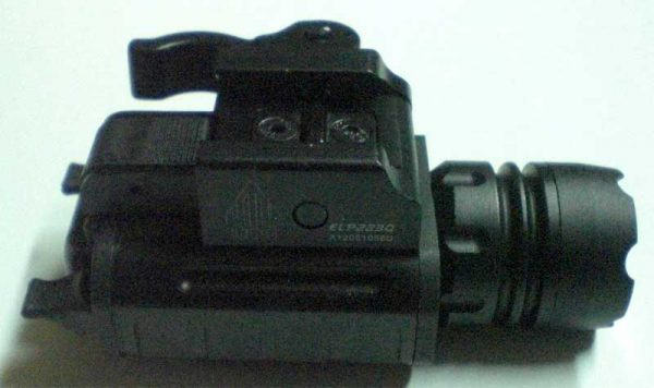 Torcia tattica a LED 150 Lumens